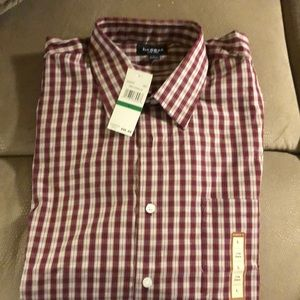 Haggar Plaid Shirt Men's Size LargeNWT for sale
